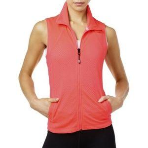 Tommy Hilfiger Sport Pink Workout Fitness Vest L